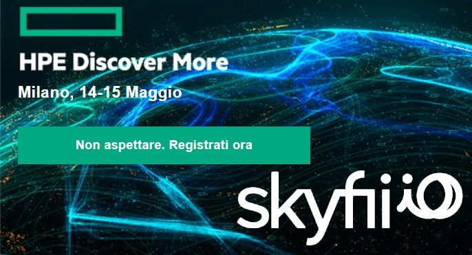 Skyfii ad HPE Discover More