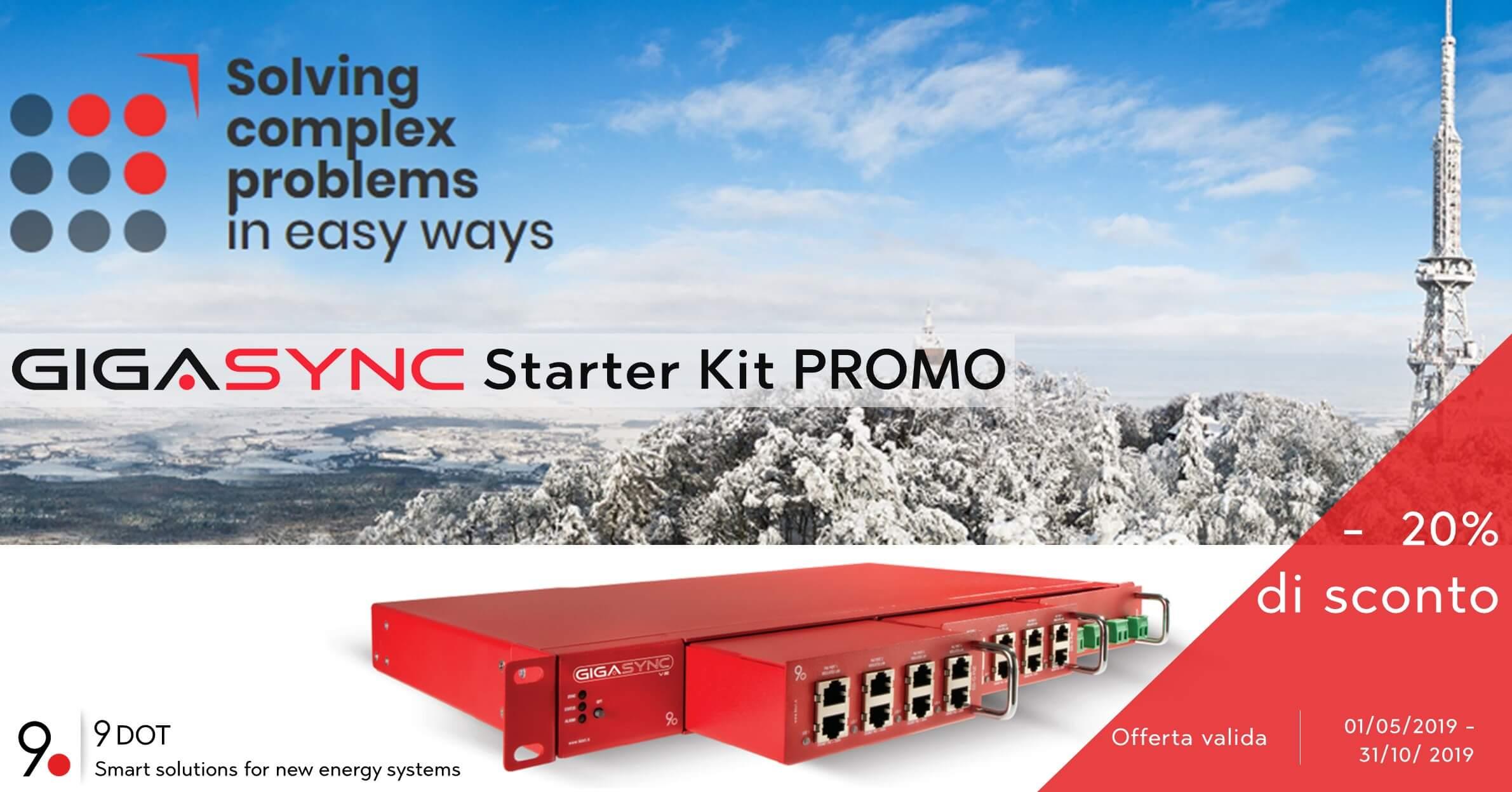 Promo Starter Kit Gigasync