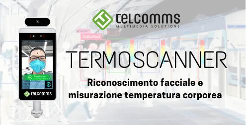 Termoscanner per riconoscimento facciale e misurazione temperatura