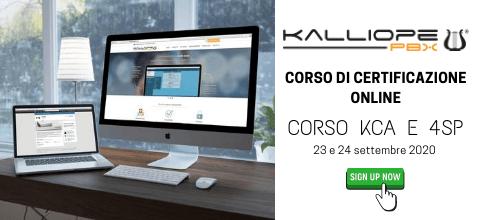 Corso di certificazione Kalliope