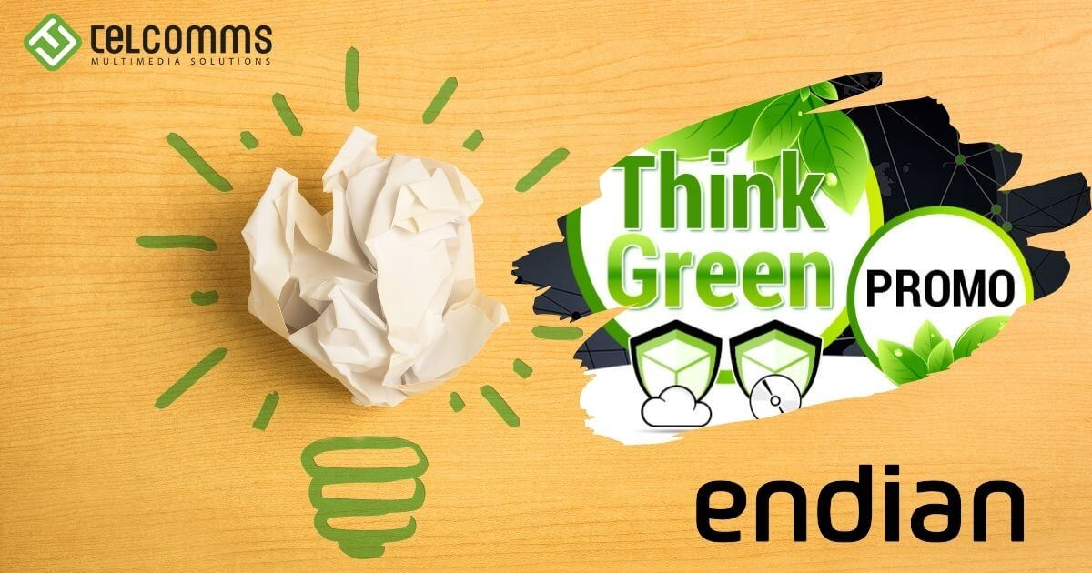 Think Green Promo | Endian