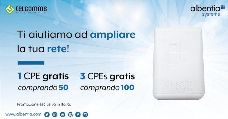 Albentia Promo cpe